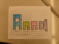 Finding area and perimeter with student names.