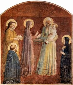 Fra Angelico frescoes was asked to decorate more than four cells, hallways and other rooms of the monastery, and he moved to the monastery of San Marco ten years after its restructuring. Description from forum.artinvestment.ru. I searched for this on bing.com/images