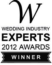 Hilary was awarded Best Celebrant England in Wedding Industry Experts Awards 2012