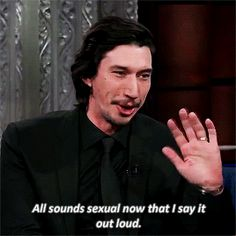 Adam Driver (The Late Show with Stephen Colbert)
