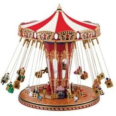 Mr Christmas Swing Carousel available at http://www.giftsonline.net Gifts Online Inc