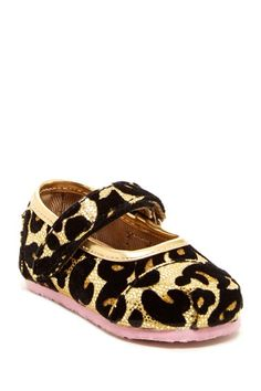 Leopard Glitter Tiny Classic Mary Janes by TOMS on @HauteLook