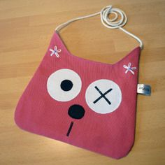 Sac pour enfant chat rose