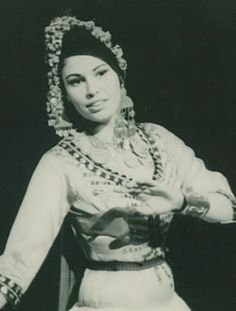 Farida Fahmy of the Reda Troupe of Egypt.  She was the very first Egyptian I ever studied with, and really inspired me.