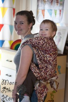 You guys know I love the benefits of babywearing. It meets baby's needs to be close and keeps my hands free to chase Big Brother. Baby Wearing Wrap, Woven Wrap, Baby Learning, Baby Wraps, Happy Baby, Baby Hacks, Cloth Diapers, Knitting Projects, Little Ones