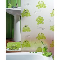 rideau-de-douche-fantaisie-grenouille.jpg (600×600)