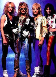 David Lee Roth Band - FANTASTIC BAND - Billy Sheehan, David Lee Roth, Greg Bissonette, Steve Vai