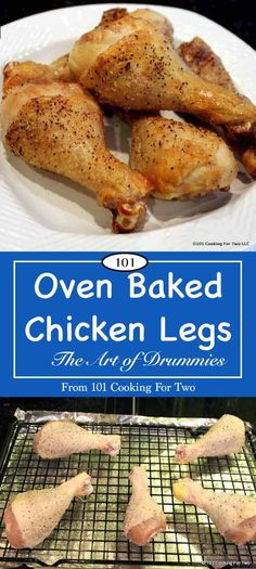 Oven baked drumsticks are about as simple as a recipe can get with these easy step by step how to photos. Just pat dry the drumsticks, spice, and cook in a high oven. Then you will have crispy goodness for the family.