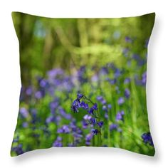 Pretty bells Throw Pillow for Sale by Helen Kelly