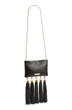 Free shipping and returns on Zac Zac Posen 'Claudette' Tasseled Leather Crossbody Bag at Nordstrom.com. Sweeping leather tassels lend showstopping drama to a refined crossbody bag that instantly elevates any ensemble. Remove the chainlink strap to carry as a daring clutch.
