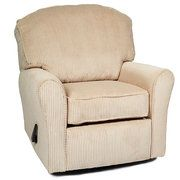 Enchanted - Recliner, Swivel Glider Upholstered Plush Taupe