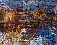 L'Artiste Anna-Sylvia TENDRON expose ses toiles au Lézard Créatif de Royan durant tout le mois d'octobre 2015.