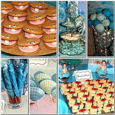 food ideas for mermaids