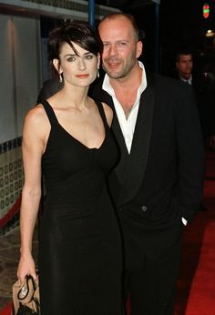 Bruce Willis Friends | demi moore and bruce willis are so close that bruce sometimes went on ...