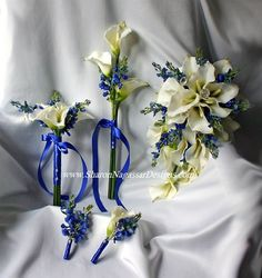 I love that these are fake flowers and can be kept in the condition they were in for they wedding forever!!