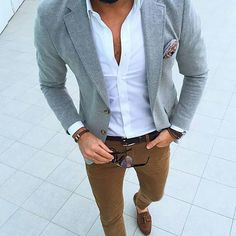 Amazing style #hqmensfashion  Follow @anonymous.gentlemen for more great stuff!  Photo and style by @tufanir