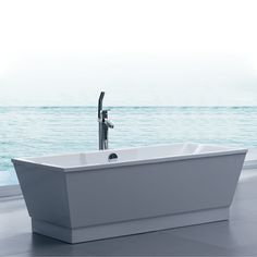 Aquatica Group Inc. PURESCAPE 051 Freestanding Tub, White