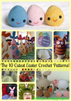 The 10 Cutest Free Easter #Crochet Patterns!