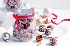 Rumballs make brilliant Christmas gifts. Use a store-bought ginger loaf as the base and you don't even have to turn on the oven.