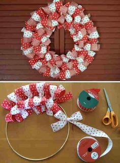 Adorable Ribbon Wreaths! | Sweet Little Thang