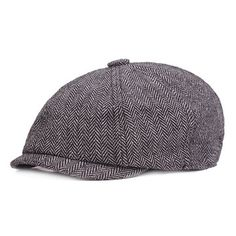 aba5bfe0413 Men Vintage Octagonal Cotton Newsboy Beret Cap Travel Handsome Plaid Casual  Hat is hot sale on Newchic.