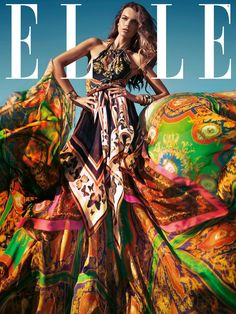 Elle Spain March 2012 Cover | Filippa Hamilton by Santiago Esteban