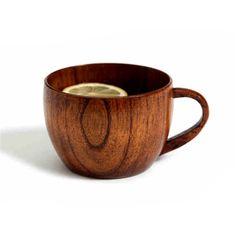 Wooden Cup Mugs Tea Mugs