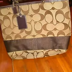 Coach In good condition does have wear on the bottom corners Coach Bags Totes