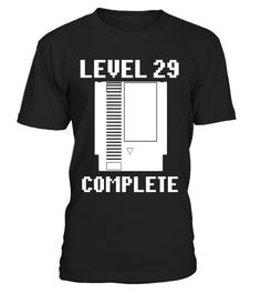"# Level 29 Complete Gamers 29th Birthday Shirt .  Special Offer, not available in shops      Comes in a variety of styles and colours      Buy yours now before it is too late!      Secured payment via Visa / Mastercard / Amex / PayPal      How to place an order            Choose the model from the drop-down menu      Click on ""Buy it now""      Choose the size and the quantity      Add your delivery address and bank details      And that's it!      Tags: Shirts make funny gamer gifts, Great…"