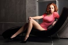 Sexy Redhead Babe   Big Adult Photos