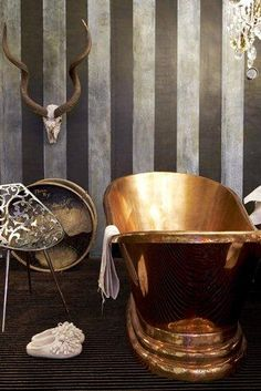 Bexelbaumer Stand Decorex | Copper Baths, Basins, Taps & Other Fittings