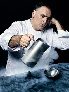 Jose Andres - A man full of curiosity. He spent years conversing with Physicists about the science of food, and eventually went on to teach a course about it at Harvard. Not bad for someone who never attended college himself.