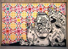 Graffiti Art Around the World : Vol 17 // Mr Pilgrim Street Art Online Graffiti Art, Best Graffiti, Urban Graffiti, Kunst Online, Online Art, Best Street Art, Paris, Street Artists, Islamic Art