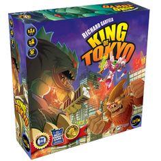 Caixa do Jogo de Tabuleiro - King of Tokyo