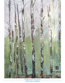 Fall Birches by Laura Park