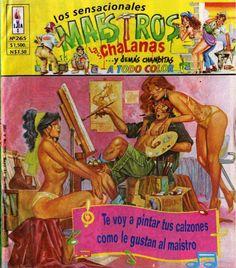 Los Sensacionales Maestros, Las Chalanas y Demás Chambitas # 263 - Editoral EJEA - México