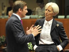 Head of the International Monetary Fund Christine Lagarde