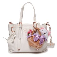 Samantha Thavasa Disney Collection The Aristocats Marie tote bag white.  Tracy ♡ · Accessorize. ♡ · Hello kitty Hello Kitty Items ... fb753935575c3