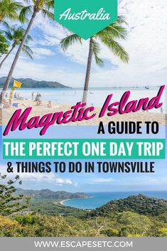 If you're travelling Australia's East Coast then a trip to Magnetic Island is a must. Here's my guide to spending one day on Magnetic Island to help you plan your adventures! Magnetic Island, Travel Guides, Travel Tips, Travel Expert, Budget Travel, Travel Photos, Sydney, Brisbane, Bali