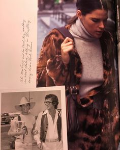 The #Coach75 BOOK 📚 has amazing photos of my namesake #alimacgraw with her #coach saddlebag @coach 💥💥💥