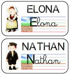 étiquettes modèles des prénoms des élèves GS et CP Kindergarten, Teaching Writing, Under Pressure, Learning Activities, School, Sports, Blog, Cycle 2, Grande Section