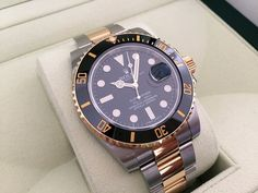 FS: Rolex Submariner 116613LN (Two-Tone Black) G-Serial 116613 - Rolex Forums - Rolex Watch Forum