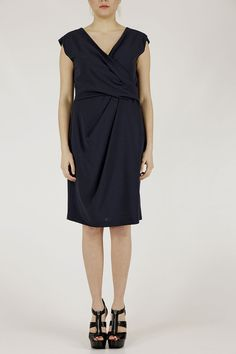 Armani collezione donna NMA16T NM008 918 P/E14 donna abito vestito