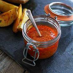 Piri Piri Sauce - Hot Pepper Sauce - I Made this hot sauce with red jalapeños. Very tasty sauce!!