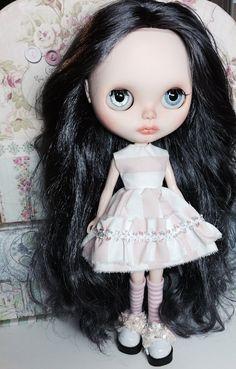 Custom Country Summer Blythe Doll Named Chloe by EmmyBlythe