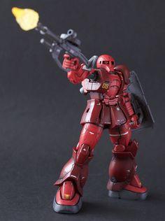 ガンダム The Origin, Custom Gundam, Mecha Anime, Gundam Model, Mobile Suit, Scale Model, Plastic Models, Badass, Animation