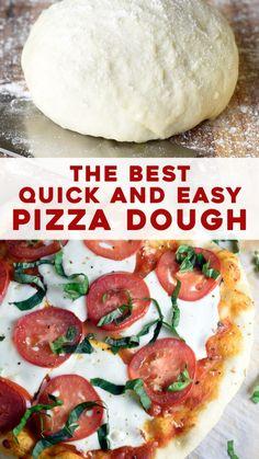 Artisan Bread Recipes, Pizza Recipes, Cooking Recipes, Easy Pizza Dough, Fancy Pizza, Eat Pizza, Perfect Pot Roast, Pizza Burgers, Large Pizza