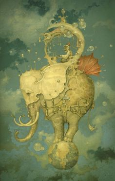 Daniel Merriam | Surreal watercolor Artist
