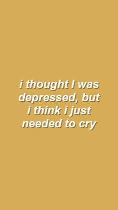 Gravel to Tempo - Hayley Kiyoko  pensé que estaba deprimido, pero creo que sólo necesitaba llorar
