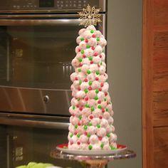 Katie Lee's Doughnut-Hole Christmas Tree   Rachael Ray Show